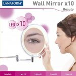 miroir grossissant x10 fixation murale TOP 2 image 2 produit