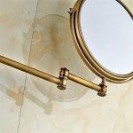 miroir grossissant x10 fixation murale TOP 4 image 3 produit