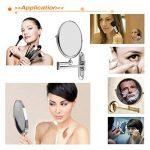 miroir grossissant x10 fixation murale TOP 7 image 3 produit