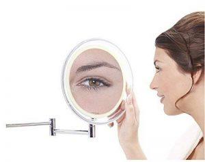 miroir grossissant x10 mural TOP 5 image 0 produit