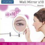 miroir grossissant x10 mural TOP 5 image 2 produit
