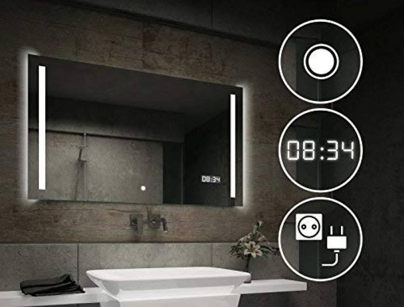 Moderne Miroir Premium Brasil Choisissez des Accessoires Alasta/® Miroir Moderne Miroir de Salle de Bain