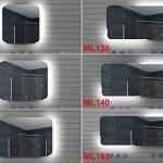 miroir lumineux salle de bain 120x60 TOP 1 image 3 produit