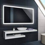 miroir lumineux salle de bain 120x60 TOP 5 image 1 produit