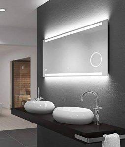 miroir lumineux salle de bain 120x60 TOP 6 image 0 produit