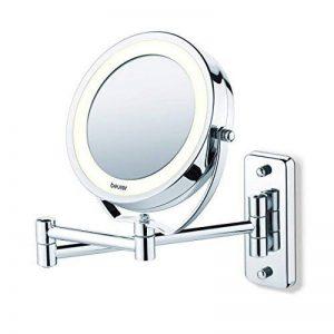 Miroir mural pour maquillage miroir grossissant éclairage LED Beurer BS 59 de la marque Beurer image 0 produit
