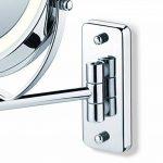 Miroir mural pour maquillage miroir grossissant éclairage LED Beurer BS 59 de la marque Beurer image 4 produit