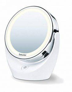 Miroir pour maquillage grossissant double face éclairé Beurer BS 49 de la marque Beurer image 0 produit