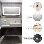 miroir salle de bain 100x100 TOP 7 image 1 produit