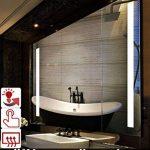 miroir salle de bain 100x100 TOP 9 image 1 produit