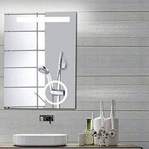 miroir salle de bain avec interrupteur et prise TOP 13 image 0 produit