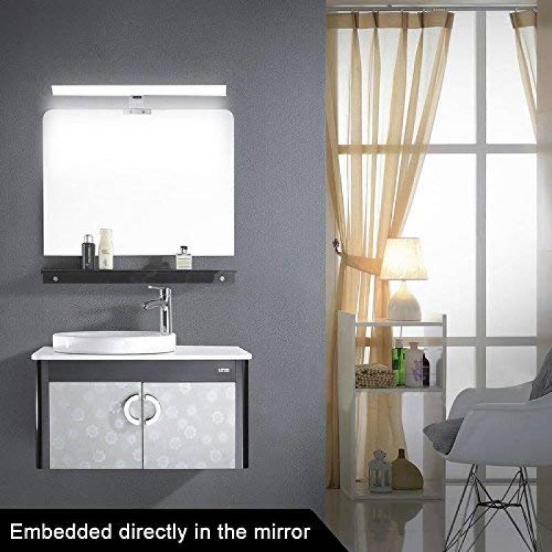 Miroir salle de bain avec interrupteur et prise pour 2019 ...