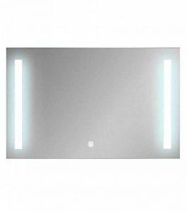 Miroir Salle de Bain éclairant LED Anti buee rectangulaire avec Touche Sensitive Thana 100 cm 120 cm 130 cm 6000K (100_x_75_cm) de la marque Bon Bain France image 0 produit