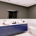 Miroir Standard - Miroir sans Cadre - Taille du Miroir 80x60 cm - Miroir pour Salle de Bain - Miroir Mural - Salle de Bain - Salon - Cuisine - Hall - M1ST-01-80x60 - ARTTOR de la marque ARTTOR Miroir - STANDARD image 2 produit
