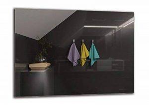 Miroir Standard - Miroir sans Cadre - Taille du Miroir 80x60 cm - Miroir pour Salle de Bain - Miroir Mural - Salle de Bain - Salon - Cuisine - Hall - M1ST-01-80x60 - ARTTOR de la marque ARTTOR Miroir - STANDARD image 0 produit