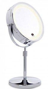 Miroir Tactile éclairage led sur pied, double face grossissant x1x10 de la marque Lanaform image 0 produit