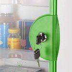 Mizii Boîte De Médecine Boîte Multifonctionnelle De Secours De Grande Famille Boîte De Médecine De Scellage D'alliage D'aluminium Boîte De Médecine De Serrure Portative Murale ( Color : Green ) de la marque Boîte à bijoux image 1 produit