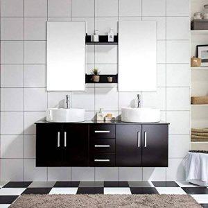 Mon Usine Discount LAtlantic : Ensemble salle de bain, 2 vasques 2 miroirs de la marque Mon Usine Discount image 0 produit