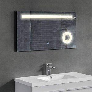 [Neu.Haus]®] Design Miroir du Mur Miroir de Salle de Bains éclairage LED de la marque [Neu.Haus]® image 0 produit