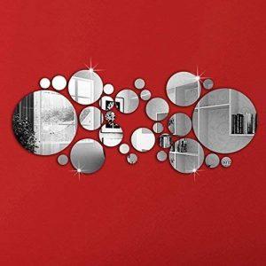 OMGAI Cercle Rond Miroir Autocollant Mur Decal Décoration de la marque OMGAI image 0 produit