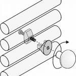 Paire Handy Grip–Porte-serviette–Ne trous plus les carrelage et ne pas utiliser la colle parce que se fixant directement sur le ton Radiateur sèche-serviettes–blancs de la marque Linea Handy image 2 produit