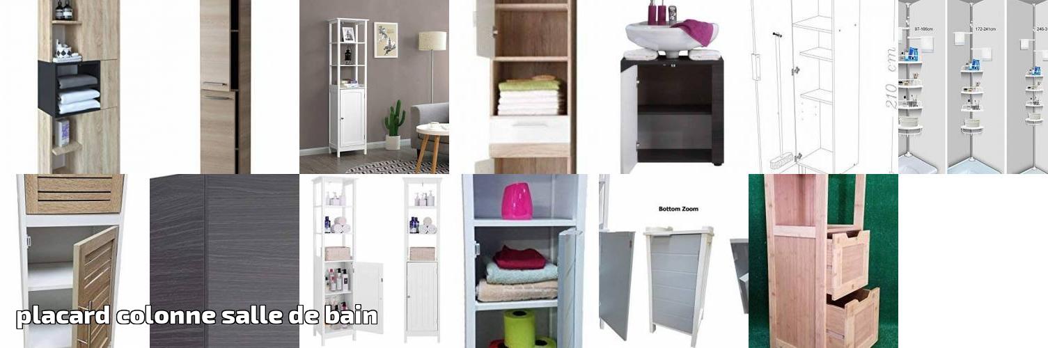 65da1c557bfb27 Notre comparatif pour : Placard colonne salle de bain pour 2019 | Meubler  sa salle de Bain