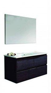 Platos de Ducha y Mamparas Naima Ensemble meuble, vasque en céramique et miroir lisse 80cm Chêne Sinatra de la marque Platos de ducha y mamparas image 0 produit