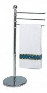 porte serviette chrome sur pied TOP 0 image 0 produit