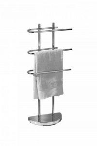 porte serviette chrome sur pied TOP 1 image 0 produit