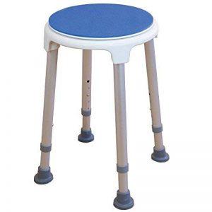 Rotation tabouret de douche / chaise de bain - réglable en hauteur de la marque Elite Care image 0 produit