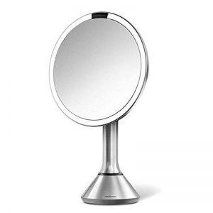 Simplehuman - Miroir à capteur, acier inoxydable, système de lumière tru-lux - 5 ans de garantie de la marque Simplehuman image 0 produit