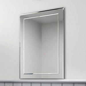Soak Miroir mural biseauté rectangulaire de marque, miroir salle de bains 50 x 70 cm de la marque iBathUK image 0 produit