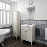 Soak Miroir mural biseauté rectangulaire de marque, miroir salle de bains 50 x 70 cm de la marque iBathUK image 1 produit