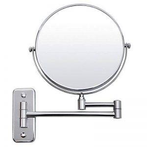 Songmics® Double Face Miroir Mural - 5 fois grossissement BBM513 de la marque SONGMICS image 0 produit