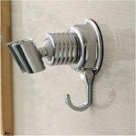 Support de douche avec crochet Porte-serviette, tkstar Douchette Support Angle réglable aspirateur support douchette salle de bain support mural Support de la marque TKSTAR image 1 produit