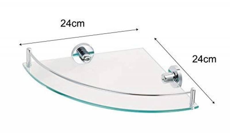 Tablette murale verre salle de bain : comment choisir les meilleurs ...