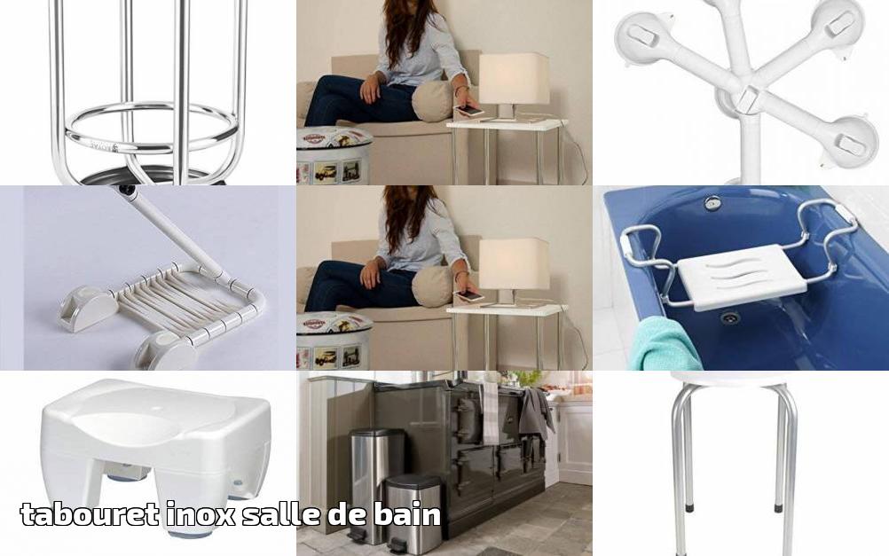 Votre Comparatif : Tabouret Inox Salle De Bain Pour 2019 | Meubler Sa Salle  De Bain