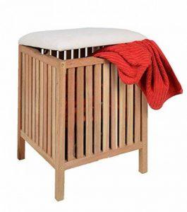 tabouret salle de bain bois TOP 2 image 0 produit