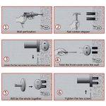 Étagère Serviette PHOEWON Multi-Fonction Porte-Serviettes en Acier Inoxydable Étagère Porte-Serviettes Mural Rangement Serviette de Bain de la marque PHOEWON image 4 produit