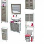 TENDANCE Meuble Dessous de lavabo ou Evier - 2 Portes et 1 étagère - Esprit Charme de la marque TENDANCE image 1 produit