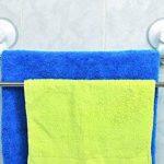 Tendance - Porte serviette 2 barres/ventouses blanc de la marque TENDANCE image 1 produit
