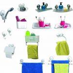 Tendance - Porte serviette 2 barres/ventouses blanc de la marque TENDANCE image 2 produit
