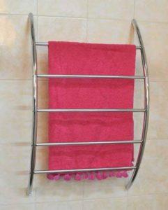 TENDANCE Porte-serviette mural 5barres en métal Chromé de la marque TENDANCE image 0 produit