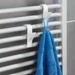 Wenko Lot de 6crochets porte-serviettes pour radiateur Blanc de la marque Wenko image 1 produit