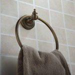 XY&XH porte-serviettes ,Anneau à serviette rond en bronze huilé de la marque XY&XH image 4 produit