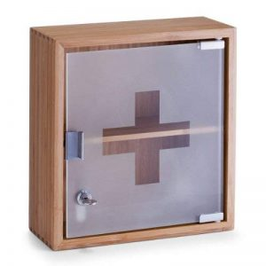 Zeller 13594 Armoire à pharmacie Bambou Brun 31 x 14 x 33 cm de la marque Zeller image 0 produit