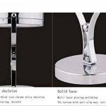 ZT Miroir cosmétique de LED avec le miroir de maquillage rond d'émission de lumière Miroir grossissant de 5 fois le miroir de maquillage mené de la marque SADG image 2 produit