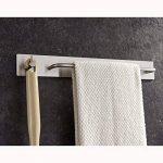 ZUNTO 34cm Auto-Adhésif Porte Serviette Acier Inoxydable Avec Crochet pour salle de bain et cuisine de la marque ZUNTO image 3 produit